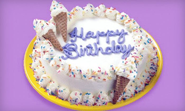 Ben & Jerry's - Overland Park: Medium Ice-Cream Cake or Kids' Party for Up to 15 at Ben & Jerry's (Up to Half Off)