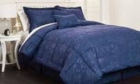 Embossed Flower Comforter Set (6-Piece)
