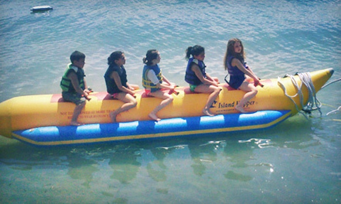 Clearwater Jet Ski & Parasail - Sand Key: $59 for a 30-Minute Banana-Boat Ride for Three to Five Passengers from Clearwater Jet Ski & Parasail (Up to $125 Value)