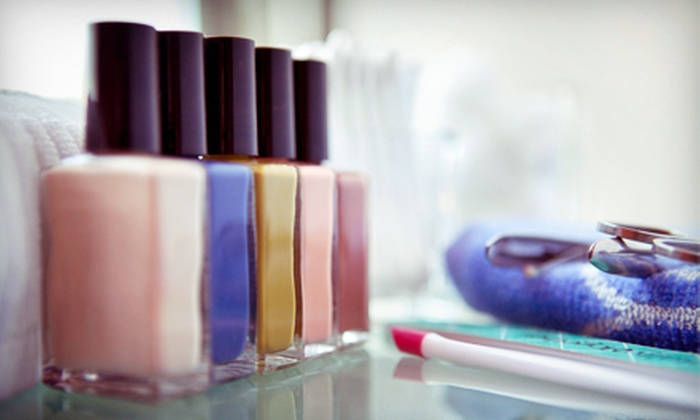 Transitions Nails, Hair, and More - Post Road North: Three Regular or Shellac Manicures at Transitions Nails, Hair, and More (Up to 54% Off)