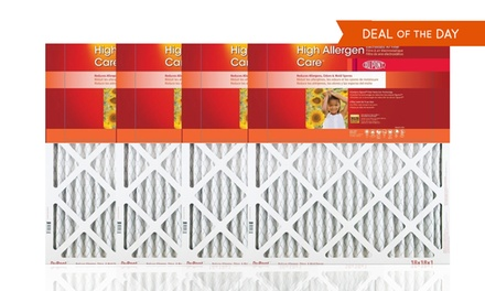 DuPont High Allergen Care Air Filters 4-Pack from $21.99–$36.99