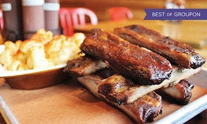 Butcher Bar: Smoked Barbecue for Two or Four with Drinks & Dessert at Butcher Bar (Up to 55% Off)