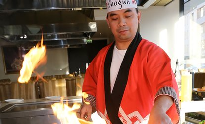 Five-Course Teppanyaki Meal For Two (£29) or Four (£58) at Shogun