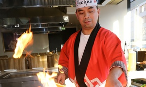 Shogun Sushi Noodle & Teppanyaki: Five-Course Teppanyaki Meal For Two (£29) or Four (£58) at Shogun