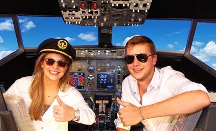 60 min ou 120 min de simulateur de vol à partager seul, en couple ou entre amisdès 89€ au Brussels Flight Simulators