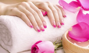 Styles International Salon: One Mani-Pedi or Two Regular or Gel Manicures at Styles International Salon (Up to 64% Off)