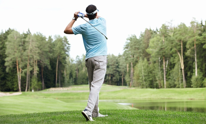 Lew Golf - Multiple Locations: One 60-Minute Private Golf Fitness Evaluation, or One or Two 60-Minute Private Golf Lessons at Lew Golf (Up to 57% Off)