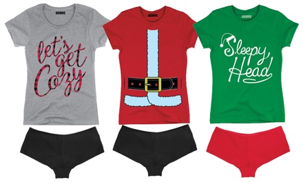 Christmas Tee and Underwear Sets