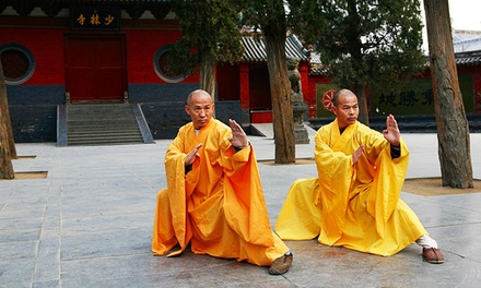 Kickboxing, Tai Chi, and Kung Fu Classes at Shaolin Institute (Up to 66% Off). Three Options Available.