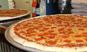 Up to 44% Off Pizza and Drinks at Benny Palmetto's at Benny Palmetto's, plus 6.0% Cash Back from Ebates.