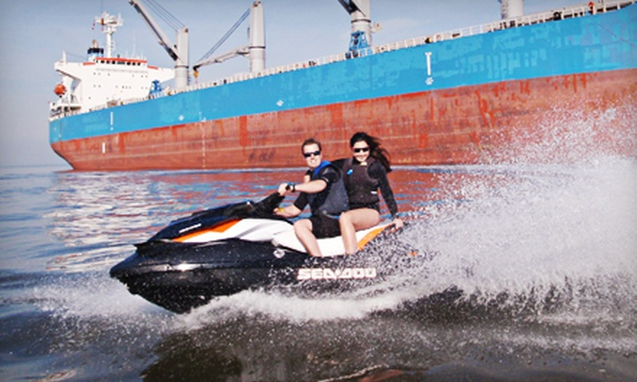 Vancouver Water Adventures - Granville Island : Two-Hour Tandem Jet-Ski Rental or Tour for Two from Vancouver Water Adventures (Half Off)
