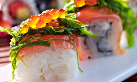 $17 for $30 Worth of Sushi, Hibachi, and Japanese Cuisine at Edamame Japanese Steak House & Sushi Bar