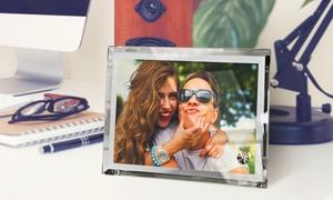 PrinterPix: Stampa foto su cornice cristallo in vari formati con PrinterPix (sconto fino a 81%)