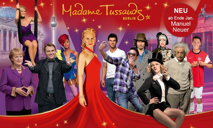 madame tussauds berlin in berlin groupon. Black Bedroom Furniture Sets. Home Design Ideas