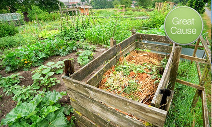 Center for Resilient Cities - Westtown,Hillside,Downtown: If 63 People Donate $10, Then the Center for Resilient Cities Can Purchase Two Double Composting Bins for Its Urban Farm