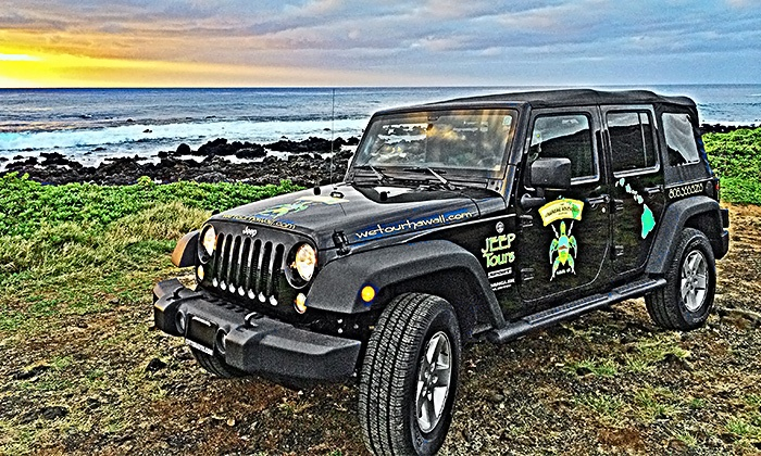 The Hawaiian Adventure Company - Honolulu: Island or Ocean Tours from The Hawaiian Adventure Company (Up to 53%53% Off). Three Options Available.