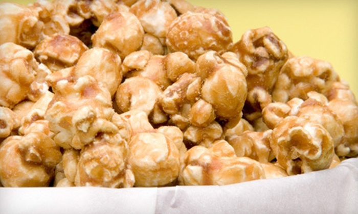 Knights Gourmet Popcorn - Jackson Park: $5 for $10 Worth of Popcorn Treats at Knights Gourmet Popcorn