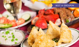 India Gate: Two-Course Meal for Two or Four at India Gate (Up to 45% Off)