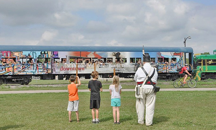 Iron Horse Festival - Railway Park: C$35 for Three Days at Iron Horse Festival on August 20–22 (C$60 Value)