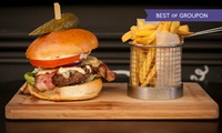 Burger or Hot Dog Meal With Cocktail from £9.50 at Honky Tonk, Clapham (Up to 54% Off)