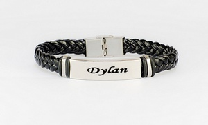 Monogramhub.com: $5 for Personalized Braided Bracelet from MonogramHub ($49.99 Value)