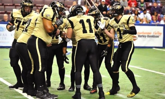 Lehigh Valley Steelhawks - Stabler Arena: $20 for Lehigh Valley Steelhawks Indoor Football Game for  Four at Stabler Arena on May 11 or 17 or June 28 ($40 Value)