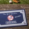 """MLB 18""""x30"""" Embossed Door Mat"""
