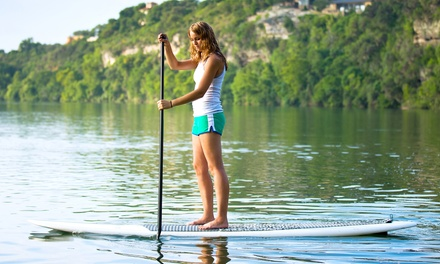 Three-Hour Group Standup-Paddleboard Lesson for One or Two at My Aloha Paddle & Surf, Inc. (50% Off)