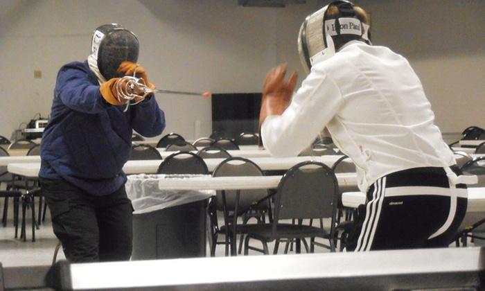 White Rose Fencing Club, LLC - Spry: 4 Rapier Classes at White Rose Fencing Club, LLC (55% Off)