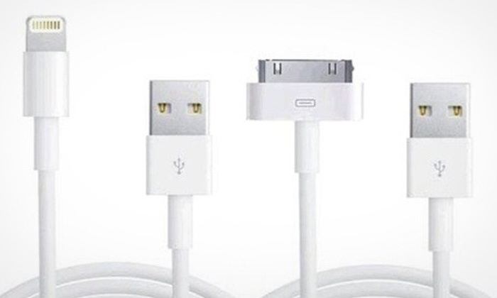 Groupon Goods: One, Two or Three-Metre USB Cable from R119 Including Delivery (Up to 54% Off)
