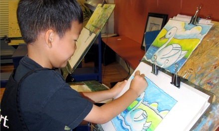 Four Weekly Art Classes for Kids or Adults at KidsArt (Up to $ Off)