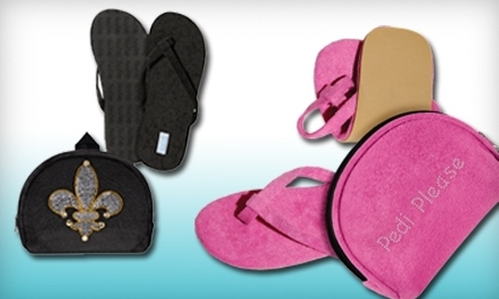 FlexFlop: One or Two Pairs of Foldable Flip-Flops from FlexFlop (Up to 60% Off)