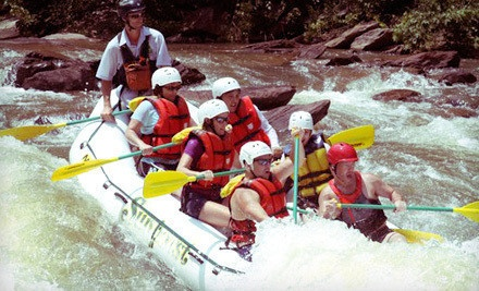 Half-Day Whitewater-Rafting Outing on the Middle or Upper Ocoee River on a Weekday - Sunburst Adventures in Benton