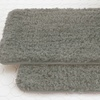 Quick-Dry Shaggy Cushioning 17 x 24 Memory-Foam Bath Mat (2-Pack)