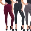 Women's Fleece Skirted Leggings (4-Pack)