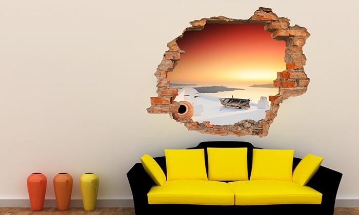Wandtattoo mit 3D-Effekt | Groupon Goods