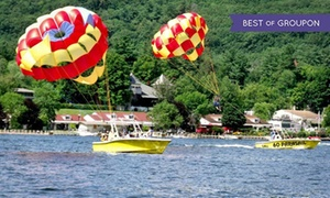 Parasailing Adventures: Parasail Ride for Two or Three at Parasailing Adventures (Up to 26% Off)