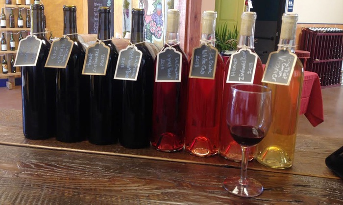 La Rebelde Winery - La Rebelde Winery: Weekday or Weekend Tasting for Two or Four with Credit Toward Wine Purchase at La Rebelde Winery (Up to 62% Off)
