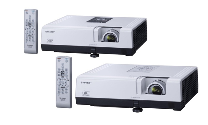 Sharp Notevision 2700-Lumen Projectors: Sharp Notevision SVGA or XGA 2700-Lumen Projector from $319.99–$349.99. Free Returns.