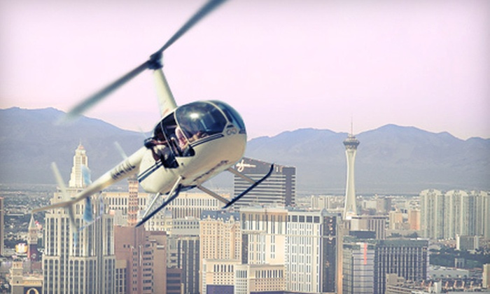 Vegas Strip Helicopter Tour  702 Helicopters  Groupon
