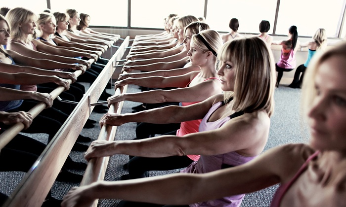 Pure Barre - Multiple Locations: Two Weeks or One Month of Unlimited Classes at Pure Barre (65% Off)