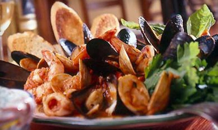 Ristorante i Ricchi - Dupont Circle: Three-Course Italian Dinner with Wine for Two or Four or Two-Course Lunch for Two at Ristorante i Ricchi (Up to 61% Off)