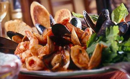 Three-Course Italian Dinner with Wine for Two or Four or Two-Course Lunch for Two at Ristorante i Ricchi (Up to 61% Off)