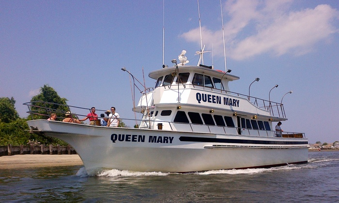 Queen Mary Fishing Boat - Spike's Fishery: Summer Cruise for 2 or 4 or Fireworks Cruise for 2 or 4 on the Queen Mary Fishing Boat (Up to 58% Off)