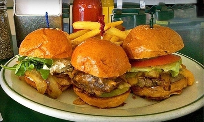 Mel's Drive-In - Multiple Locations: All-American Diner Food at Mel's Drive-In (Up to 52% Off). Two Options Available.