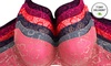 Six-Pack of Full Lace Plus-Size Bras: Six-Pack of Full Lace Plus-Size Bras in Assorted Colors. Multiple Options Available.