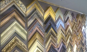 Artistic Custom Framing & Gallery: Custom or Diploma Framing at Artistic Custom Framing & Gallery (61% Off)