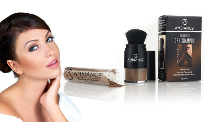 Ambiance Cosmetics Color Tinted Dry Shampoo: $8.99 for Ambiance Cosmetics 100 Percent Natural Color Tinted Dry Shampoo ($25.90 List Price). Four Colors Available.