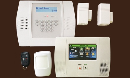 Security System and Installation from Advanced Security LLC (Up to 93% Off). Two Options Available.