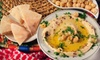 Monaco Middle Eastern Cuisine - South Windsor: Two-Course Dinner and Wine for Two or Four at Monaco Middle Eastern Cuisine (53% Off)